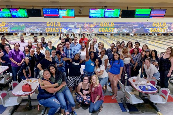 Company Bowling Event